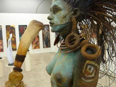 George Lafayette / Figuratives sculptures