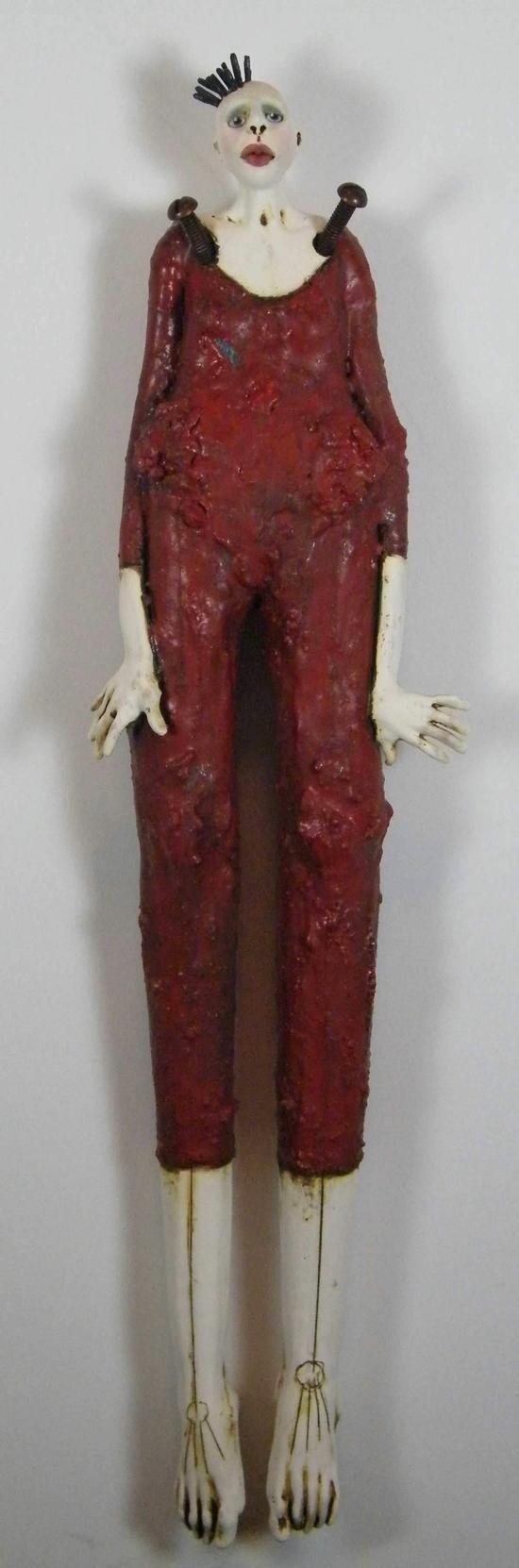 Nancy Kubale – Examine – sculpture
