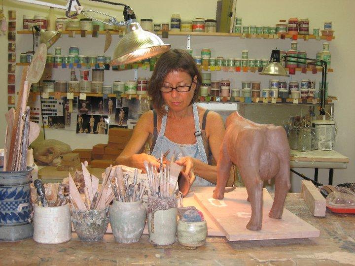 Nancy Kubale – portrait studio sculptures