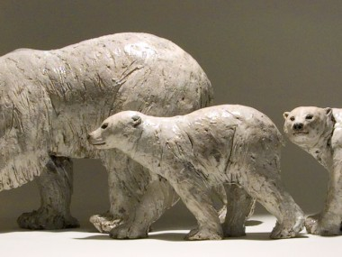 Nick Mackman – Polar bear sculptures