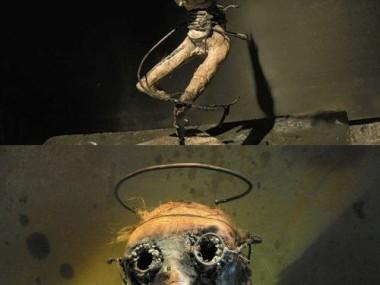 Olivier de Sagazan – Macabre sculptures