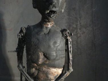 Olivier de Sagazan – Sculptures