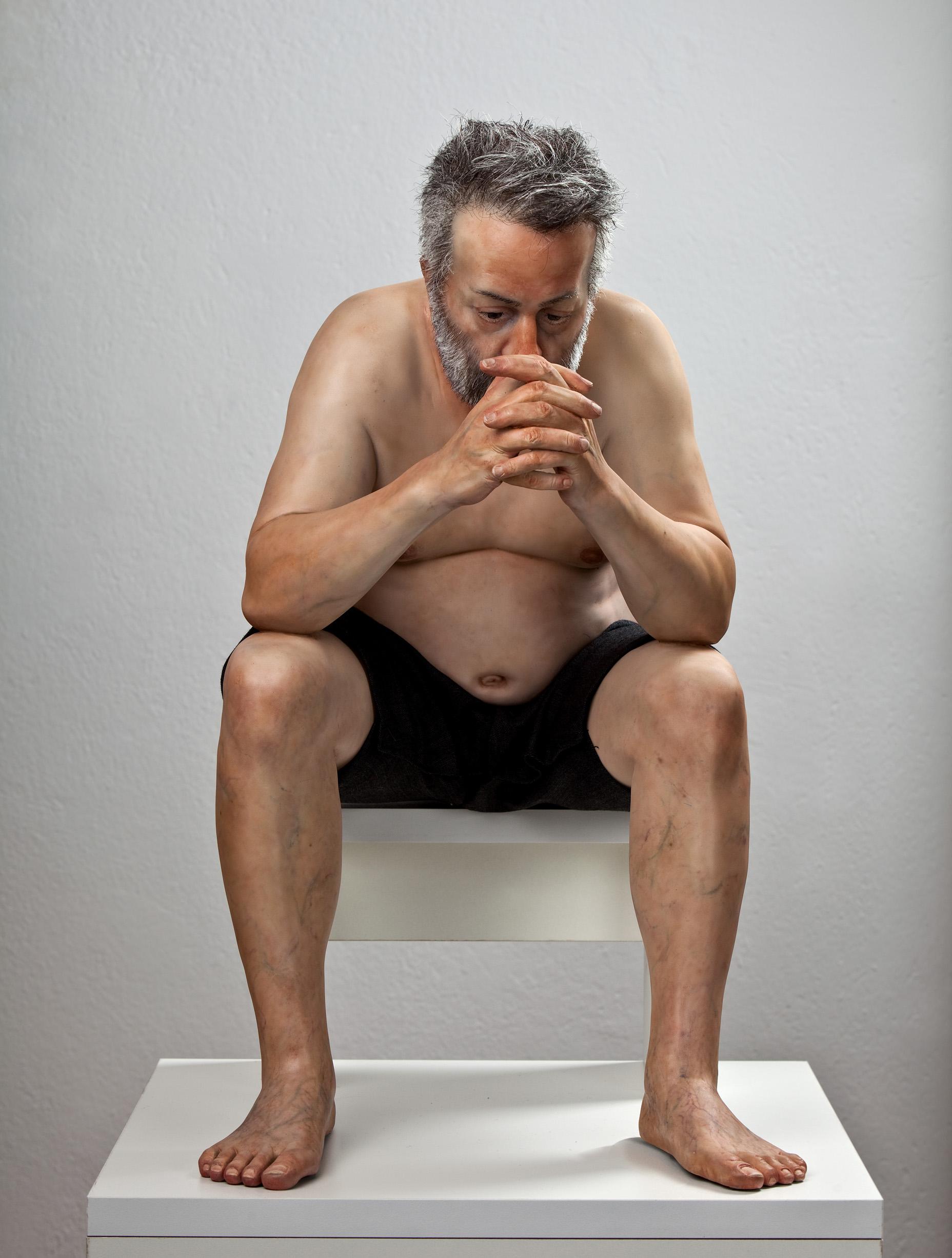 Zarko Baseski – Self Portrait – hyper realistic sculpture