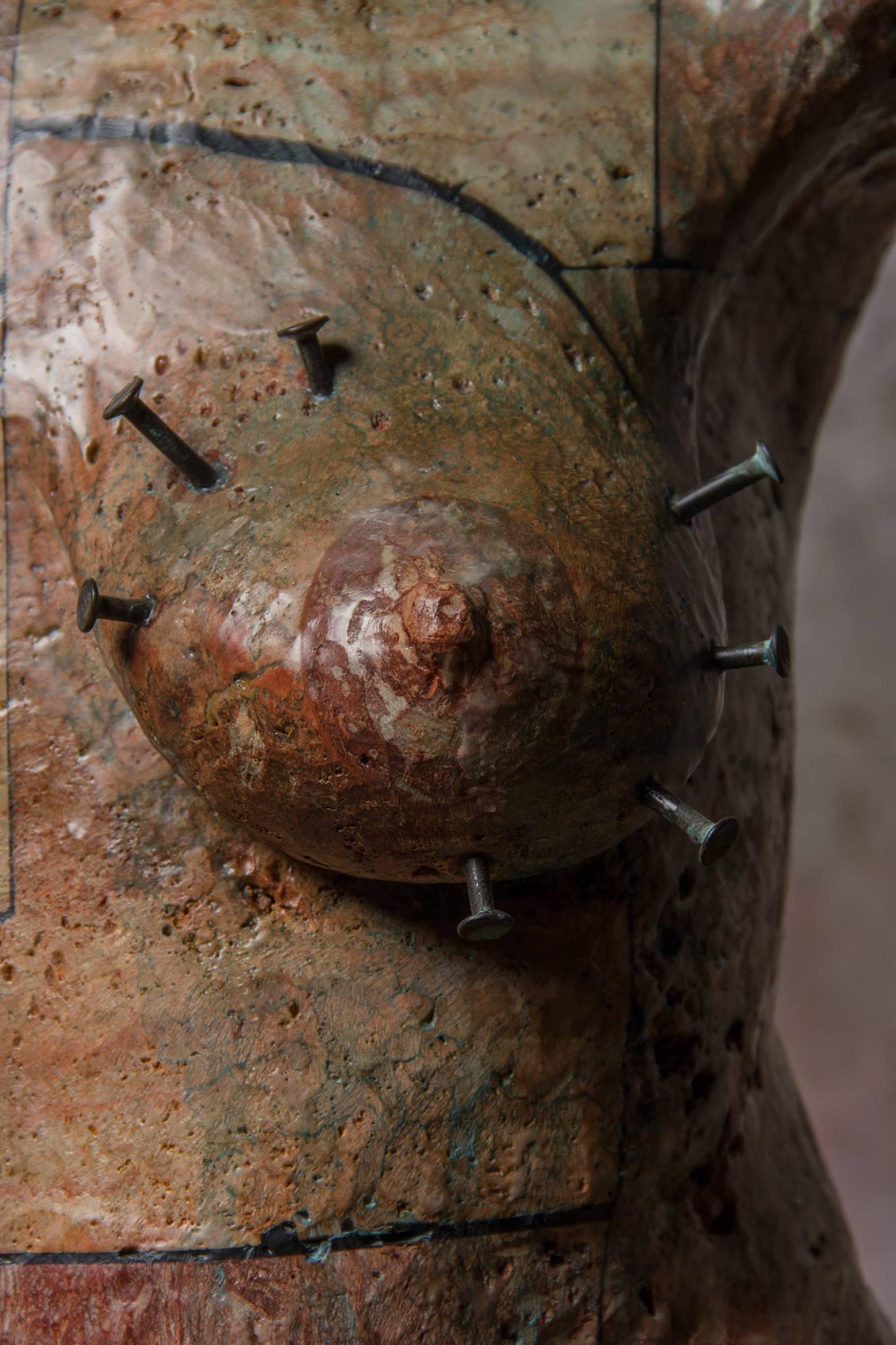Christian Zucconi – sculptures CORPO VII : MATER DOLOROSA (2015)