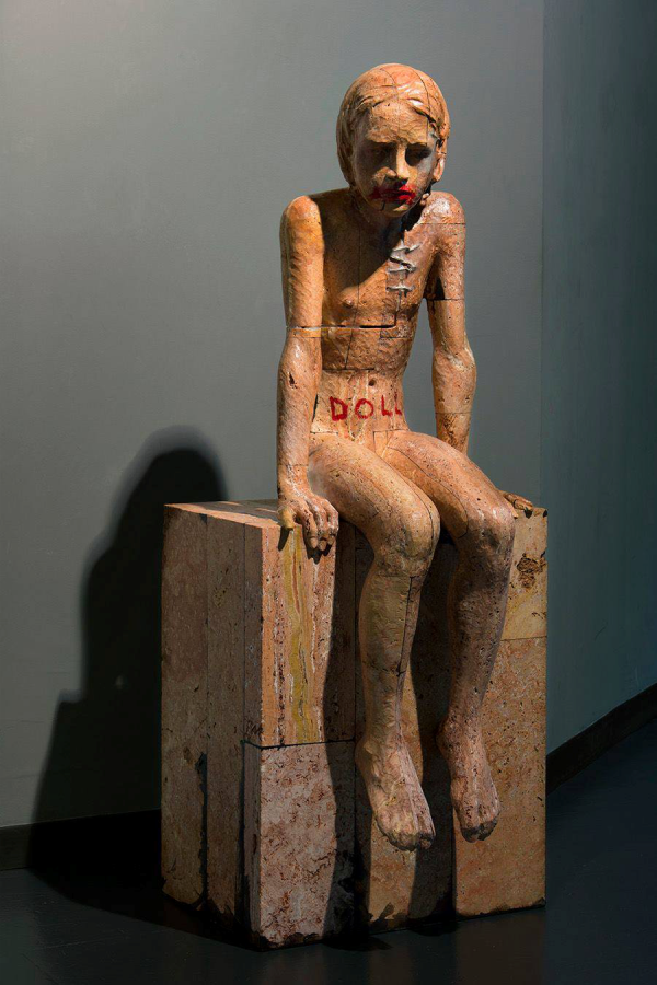 """Doll"" ©Christian Zucconi sculpture"