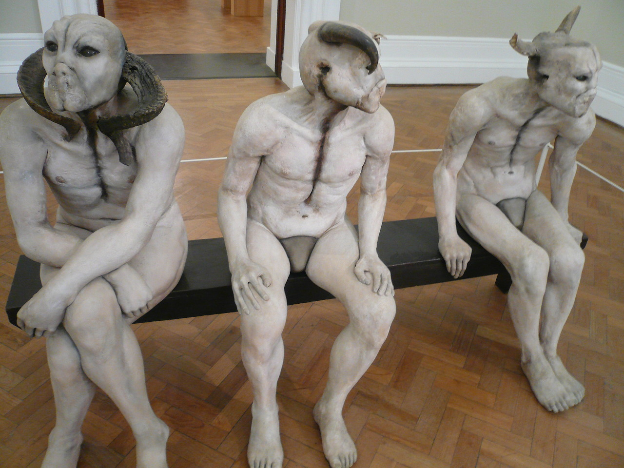 Jane Alexander – Sculptures Bucher Boys  (1985-1986)