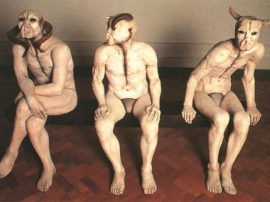 "Jane Alexander – ""The butcher boys"" sculptures"