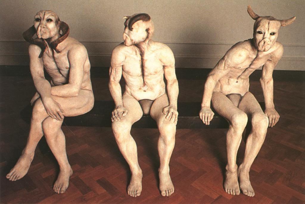 "Jane Alexander – ""The butcher boys"" sculptures"