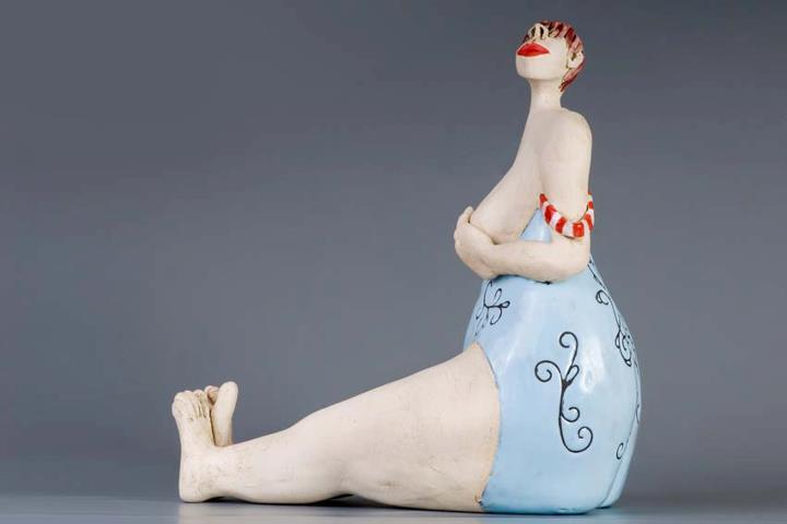Ans Vink – (B)oops / sculptures figuratives (Pays-bas)