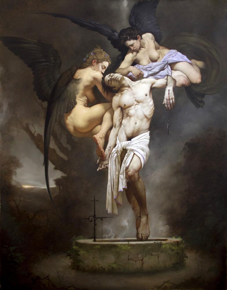 Roberto Ferri – redenzione-olio-su-tela-261x205cm