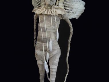 Sabrina Gruss – creatures sculptures – Les anges decus