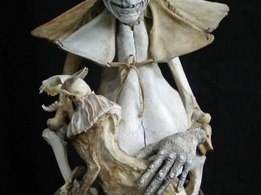Sabrina Gruss – sculptures mixed-media – Defunts animés