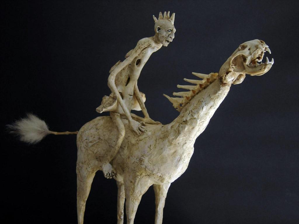 Sabrina Gruss - sculptures mixed-media - La cavale