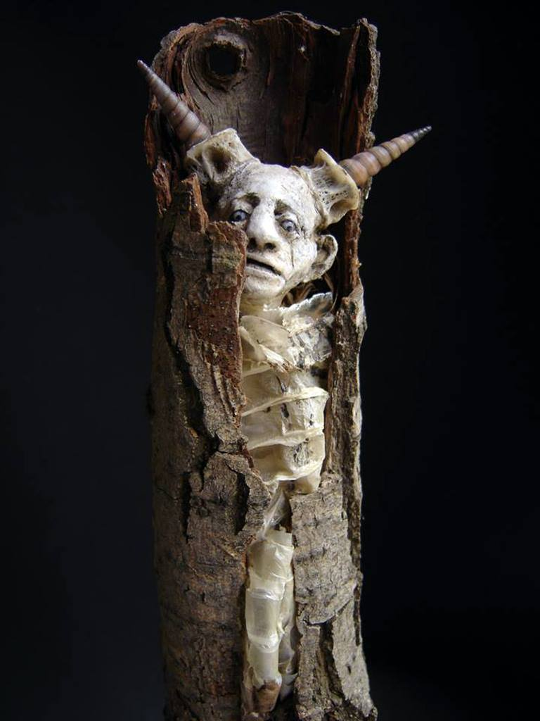 Sabrina Gruss – sculptures mixed-media /