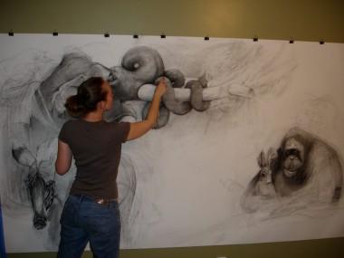 Adonna Khare Artist – Fresques Murales
