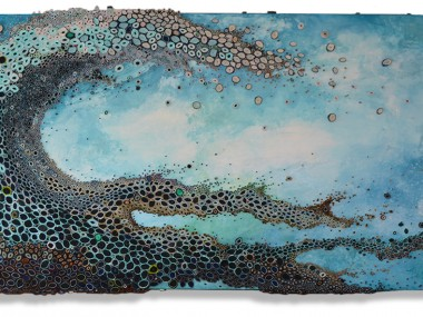 Amy Genser – East Coast Swell / Dimensional paper collages
