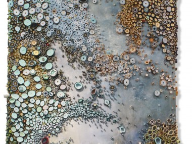 Amy Genser – Prince of Tides / Dimensional paper collages