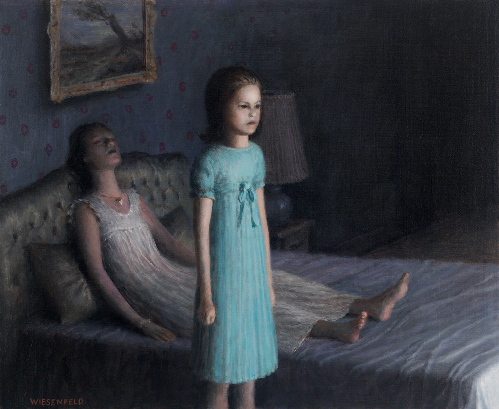 Aron Wiesenfeld – Guest / oil painting