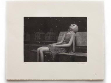 Aron Wiesenfeld – LEIGH – Etching
