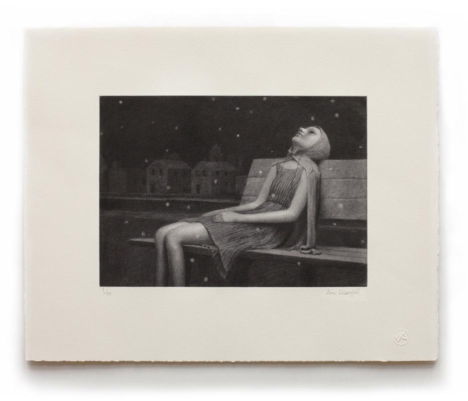 Aron Wiesenfeld – LEIGH – Etching