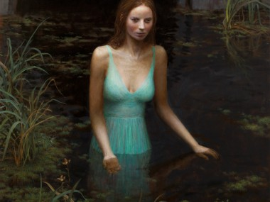 Aron Wiesenfeld – The Source – oil on canvas, 50 x 40 inches, 2012