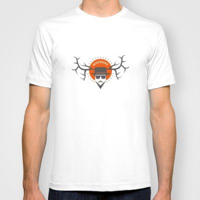 Breaking bad illustration – tee-shirt homme ©LilaVert