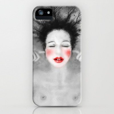 Digital illustration phone cases-slim case iphone-©LilaVert
