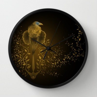 Game of Thrones – Wall clock illustration – ©LilaVert