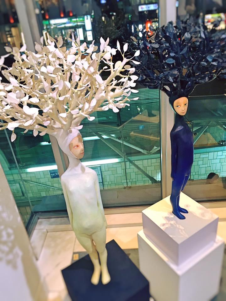 Ishibashi Yui sculpture