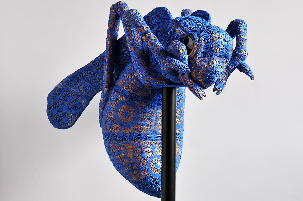 Joana Vasconcelos – abeille dentelles Art Textile