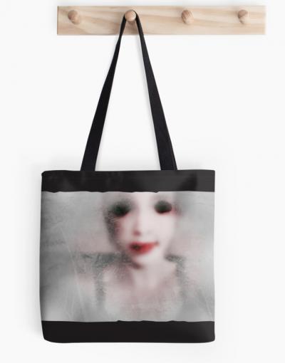 Monghost I – Tote bag sac Digital illustration – ©LilaVert