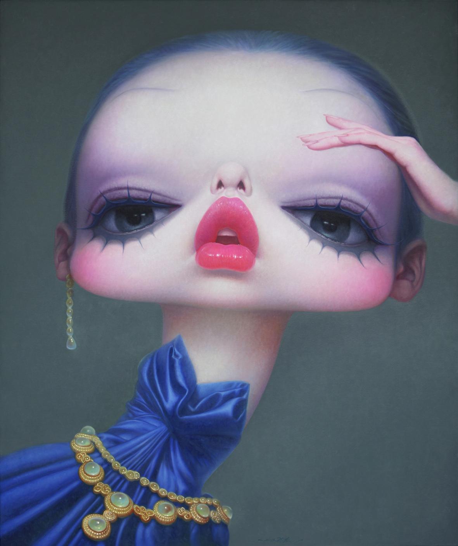 Wang Zhijie – Modern pinUp – Girl
