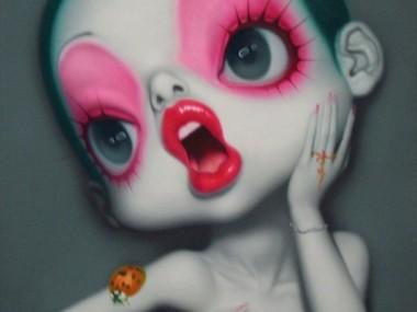 Wang Zhijie – Modern pinUP Oil paintings
