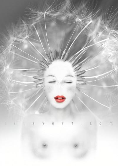 Connexion – Girl / Digitale art ©LilaVert