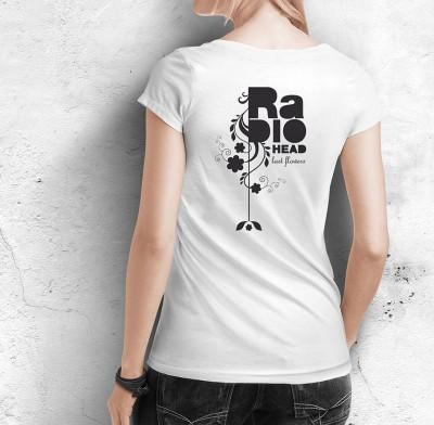 "T-shirt Radiohead ""Last Flowers"" song – ©LilaVert"