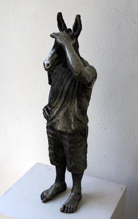Alessandro Gallo _ sculptures ceramic / Italy