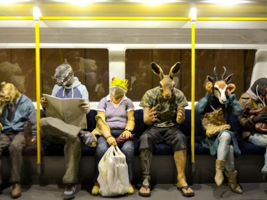 Alessandro Gallo  – Human animal hybrids sculptures