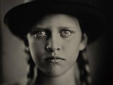 Alex Timmermans – Melanie – Tintype – Hermagis petzval 18″ – f 4.5