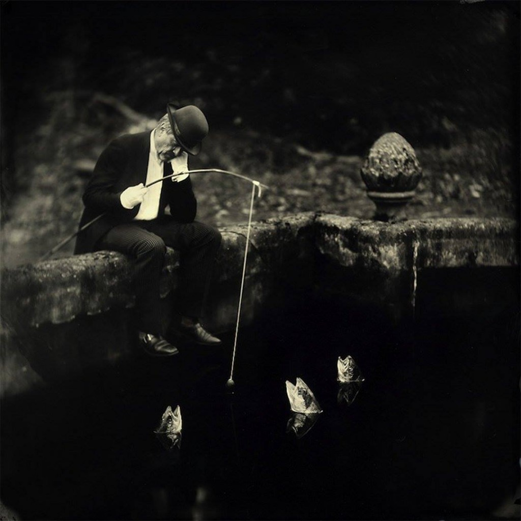 Alex Timmermans - Wet plates photography - Fisherman