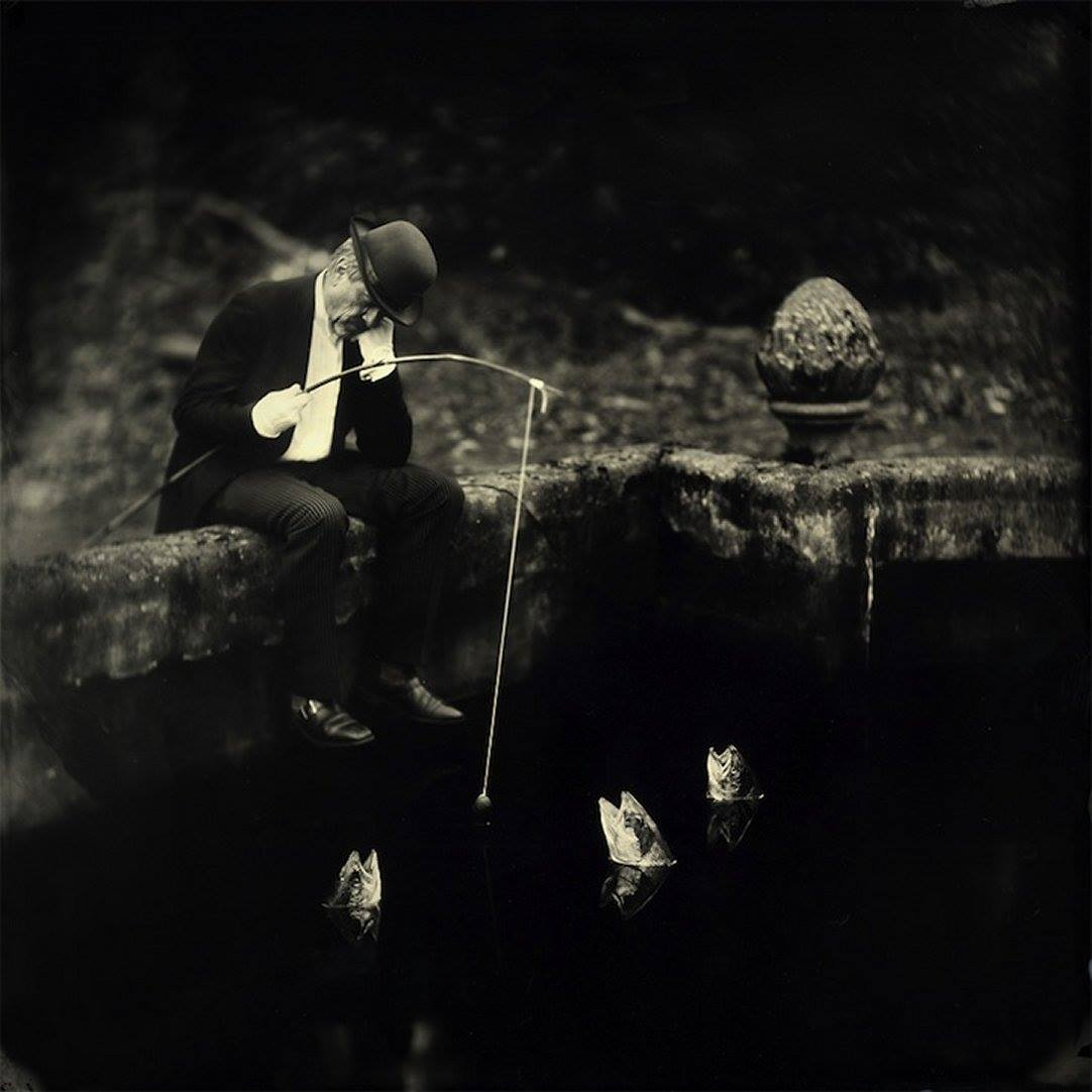Alex Timmermans – Wet plates photography – Fisherman