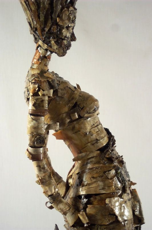 Becky Grismer - sculpture New Skin