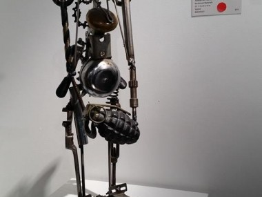 Brett Mcdanel – Nobody will play catch with me – sculptures steampunk