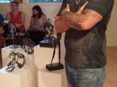 Brett Mcdanel – Steampunk sculptures portrait