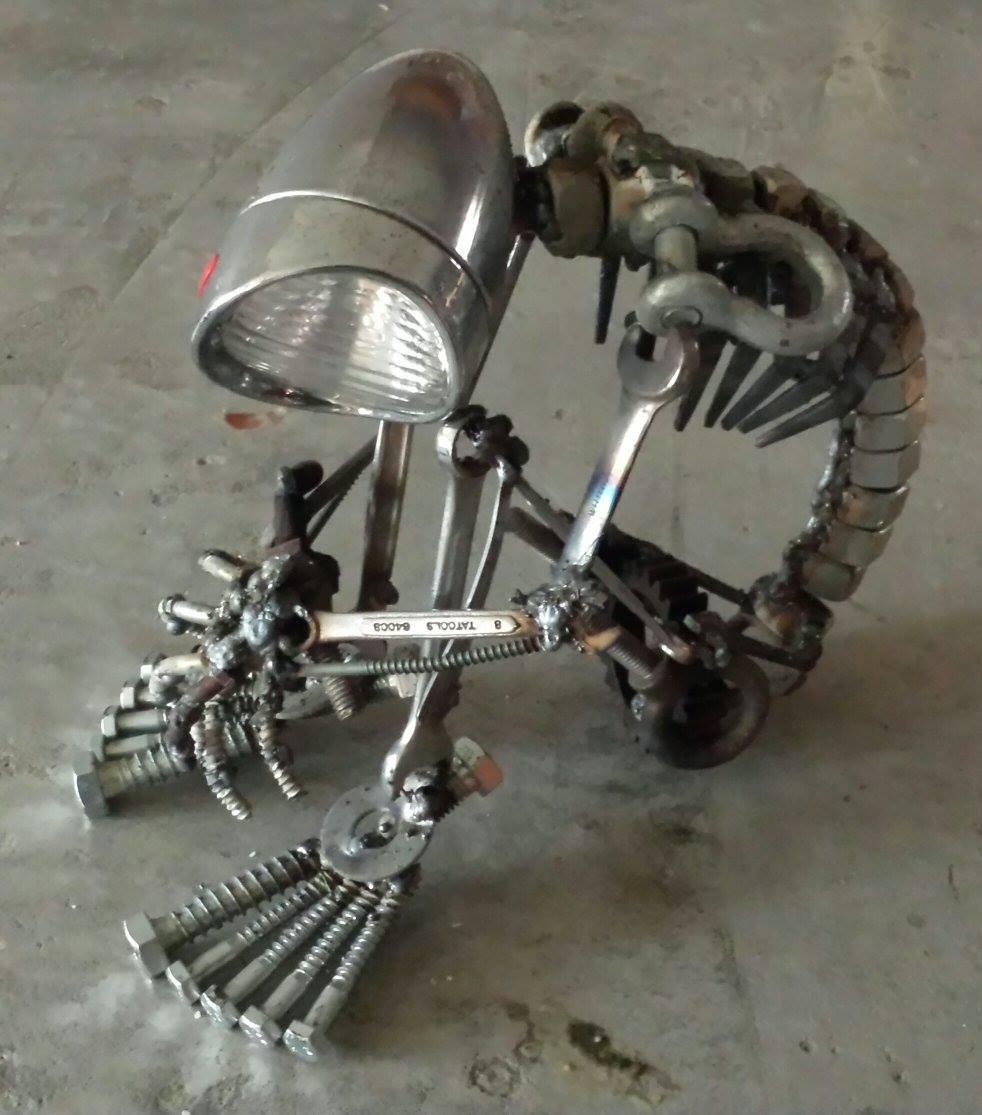 Brett Mcdanel – Steampunk sculptures