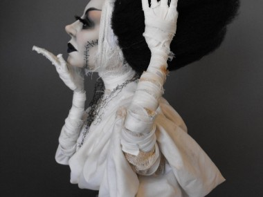 Dustin Poche – The Bride of Frankenstein sculpture