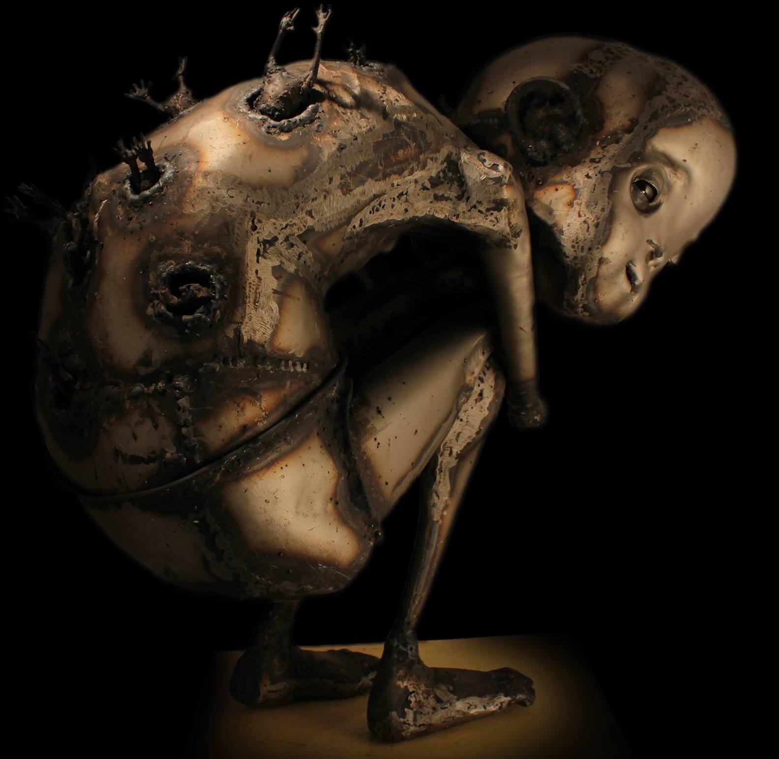Guillermo Rigattieri – Steampunk sculptures