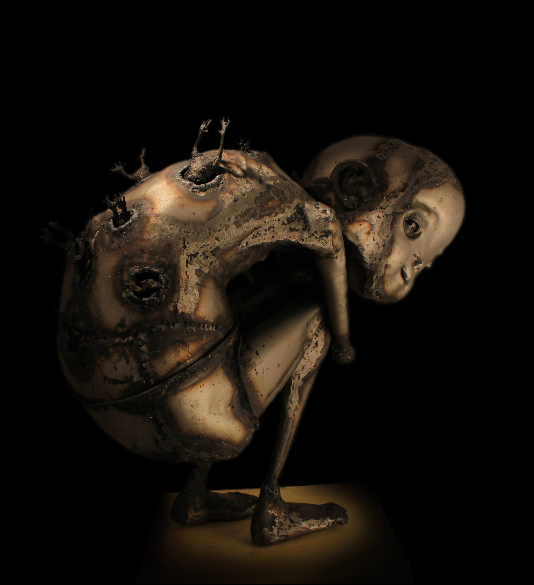 Guillermo Rigattieri – Steampunk sculptures Argentine