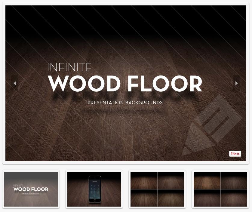 Infinite Wood Floor Presentation Backgrounds, free download