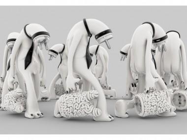 Mark Gmehling – Sculptures digitales