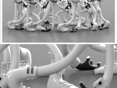 Mark Gmehling – sculptures digitales plastic